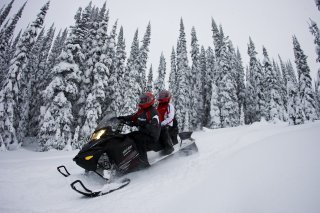 Snowmobile Tours Midway Utah